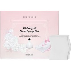 MERBLISS - Wedding 1/2 Facial Sponge Pad 60pcs found on Bargain Bro India from yes style for $6.90
