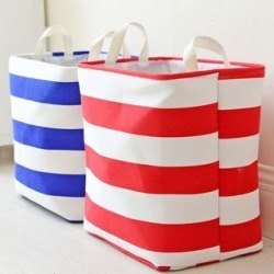 Striped Storage Basket found on Bargain Bro India from yes style for $25.90