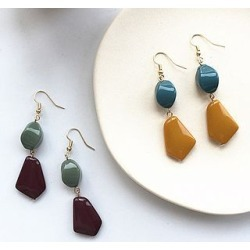 Retro Irregular Bead Dangle Earring found on Bargain Bro India from yes style for $4.66