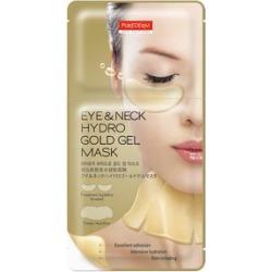 PUREDERM - Eye & Neck Hydro Gold Gel Mask: Eye Mask 1pair + Neck Mask 1pc