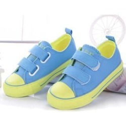 Color-Block Velcro Kids Sneakers