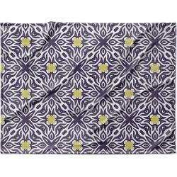 Canvas on Demand Fleece Blanket 40 x 30 entitled Groovy Geometric I