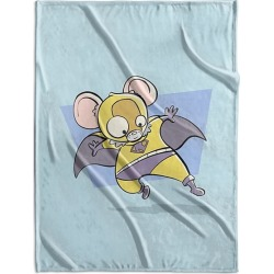 Canvas on Demand Fleece Blanket 30 x 40 entitled Mouse - Superhero Animal Art found on Bargain Bro Philippines from Canvas On Demand - Dynamic for $83.99