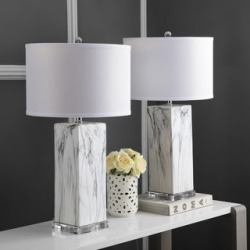 Safavieh Lighting 29-inch Olympia Marble Table Lamp (Set of 2) found on Bargain Bro from  for $476.79