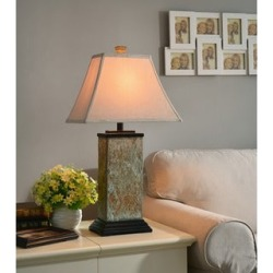 Copper Grove Hersey Natural Slate 29-inch Table Lamp found on Bargain Bro from  for $88.49
