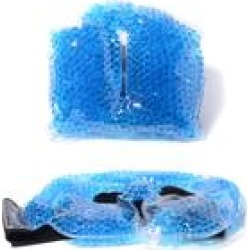 Therapeutic Gel Beads Hot and Cold Eye Mask & Neck Wrap (Relieves Tension)