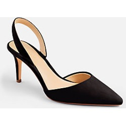 c82066420bd Ann Taylor Kerry Suede Slingback Pumps found on MODAPINS from anntaylor.com  for USD  128.00