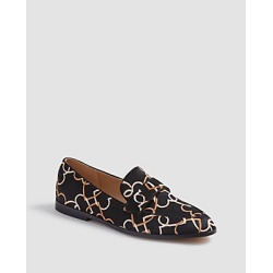 Ann Taylor Luci Heart Chain Haircalf Loafers found on Bargain Bro India from anntaylor.com for $49.88