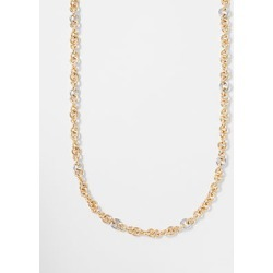 Ann Taylor Mixed Metal Chain Necklace found on Bargain Bro from anntaylor.com for USD $45.22