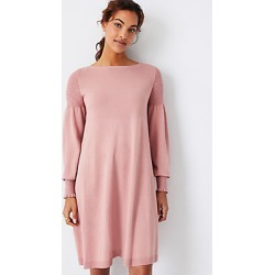 Ann Taylor Petite Smocked Sweater Dress found on Bargain Bro India from anntaylor.com for $69.88