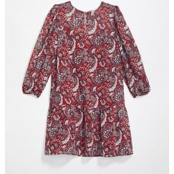 Loft Petite Shimmer Paisley Flounce Dress found on Bargain Bro Philippines from loft.com for $29.88