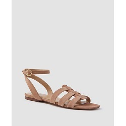 Ann Taylor Isa Suede Gladiator Sandals found on Bargain Bro India from anntaylor.com for $128.00
