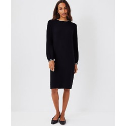 Ann Taylor Petite Tipped Ribbed Sweater Dress found on Bargain Bro India from anntaylor.com for $49.88