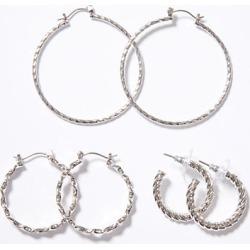 Loft Twist Hoop Earring Set found on Bargain Bro from loft.com for USD $30.02