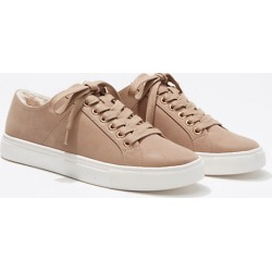 Loft Faux Fur Lined Lace Up Sneakers found on Bargain Bro Philippines from loft.com for $64.99