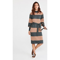 Ann Taylor Striped Turtleneck Sweater Dress found on Bargain Bro India from anntaylor.com for $59.88