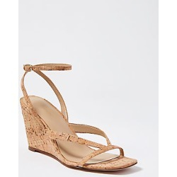 Ann Taylor Debbra Cork Strappy Wedge Sandals found on Bargain Bro India from anntaylor.com for $138.00