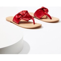Loft Bow Thong Sandals found on Bargain Bro from loft.com for USD $45.22