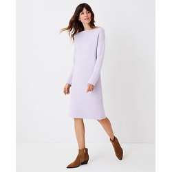 Ann Taylor Drop Shoulder Sweater Dress found on Bargain Bro India from anntaylor.com for $39.88