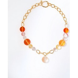 Ann Taylor Glass Bead Statement Necklace found on Bargain Bro from anntaylor.com for USD $52.82