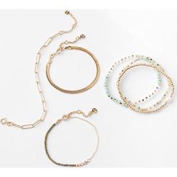 Loft Chain Beaded Bracelet Set found on Bargain Bro from loft.com for USD $26.22