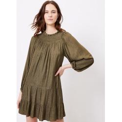 Loft Smocked Yoke Swing Dress found on MODAPINS from loft.com for USD $89.50