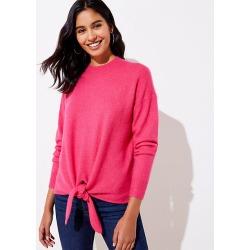 LOFT Tie Hem Sweater