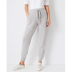 Ann Taylor The Petite Sweater Jogger Pant found on Bargain Bro India from anntaylor.com for $109.00