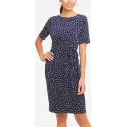 Ann Taylor Petite Shell Side Tie Dress
