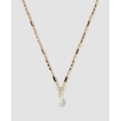 Ann Taylor Pearlized Pendant Necklace found on Bargain Bro from anntaylor.com for USD $37.62