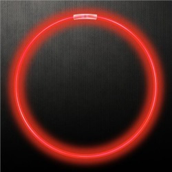 """Red 22"""" Glow Necklaces by Windy City Novelties"""
