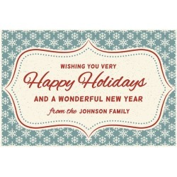 Vintage Holidays Greeting Card or Invites by Windy City Novelties