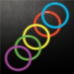 """Variety Pack 22"""" Glow Necklaces by Windy City Novelties"""