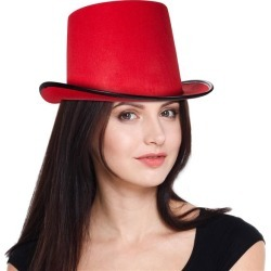 Red Top Hat by Windy City Novelties