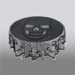 Skull Lace Table Cover by Windy City Novelties