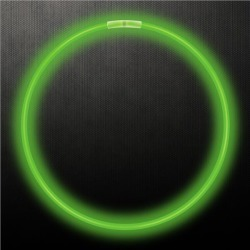 """Green 22"""" Glow Necklaces by Windy City Novelties"""