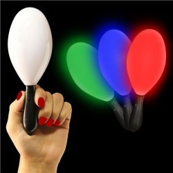 LED Party Maraca by Windy City Novelties