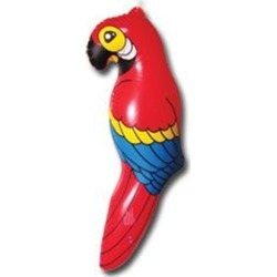 """Inflatable 26"""" Parrots by Windy City Novelties"""