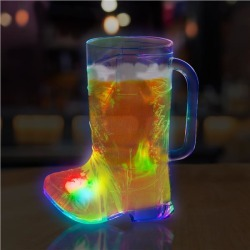 LED Boot Shape 16 oz Cup by Windy City Novelties