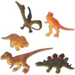 "Dinosaur 3"" Toy Figures by Windy City Novelties"
