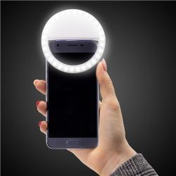 LED Phone Selfie Ring Light by Windy City Novelties