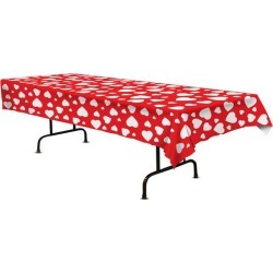 Hearts Table Cover by Windy City Novelties
