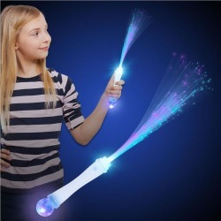 LED Wand With Strobe by Windy City Novelties