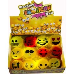 Emojicon LED Balls by Windy City Novelties