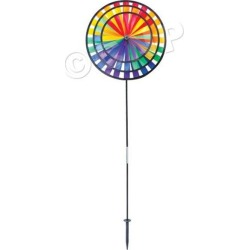 Rainbow Triple Wind Spinner by Windy City Novelties