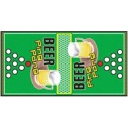 Beer Pong Ping Pong Drinking Game by Windy City Novelties