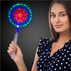 LED Windmill Wand by Windy City Novelties