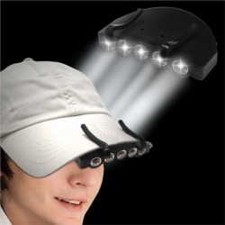 LED Hat Flashlight by Windy City Novelties