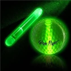 Green Glow Stick For Glow Flyer Golf Ball by Windy City Novelties