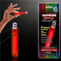 """Red 4"""" Glow Stick by Windy City Novelties"""